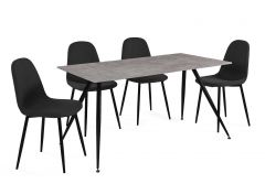 Table et chaises Brigitte