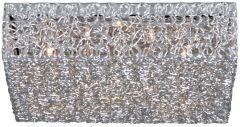 Plafonnière Wire 45x45cm - 12x20w G4