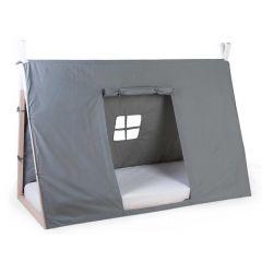 Toile pour lit tipi pour enfants 90x200 - gris