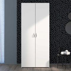 Armoire de rangement Salvador 2 portes - blanc