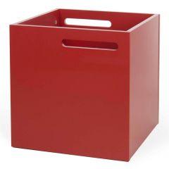 Boîte de rangement Berkeley - rouge