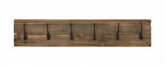 Porte-manteau Railwood - teck naturel