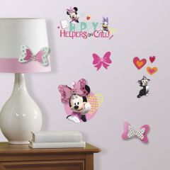Stickers muraux Minnie Mouse Happy Helpers