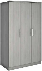 Armoire Ramos 3 portes - frêne gris