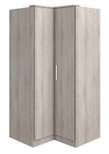 Armoire d'angle Ramos - frêne gris