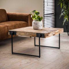 Table basse Teca 80x80