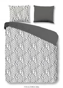 Housse de couette Curls White 200x220