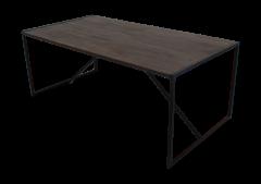 Table de repas - 220x100 cm - finition antique