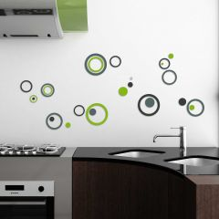 Stickers muraux 3D Fall around - mousse