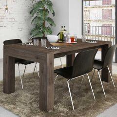 Table à manger Iris - brun