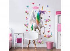 Sticker mural XL Magical Unicorn