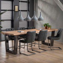 Table à manger Isla 240x100 cm - épaisseur 60 mm