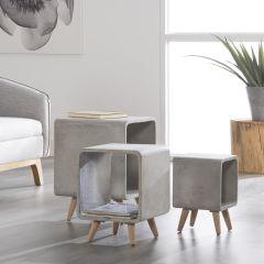 Table d'appoint Renata - 35x35 cm