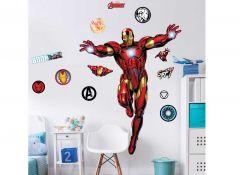 Sticker mural XL Iron Man