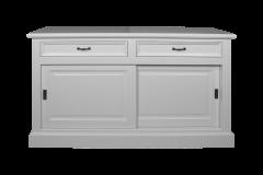 Crédence Provence - 150 cm - blanc