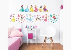 Stickers muraux personnages Princesses Disney