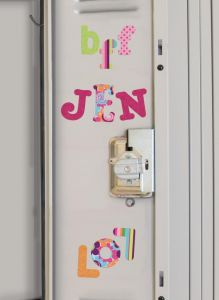RoomMates stickers muraux - Lettres Boho