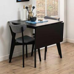 Table Rover 80/120x80 - noir