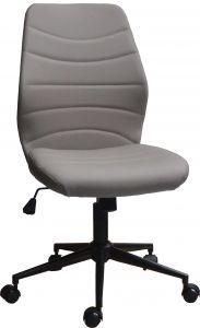 Chaise de bureau Ronda - gris clair