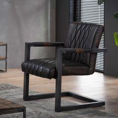Lot de 2 fauteuils Vivian - brun