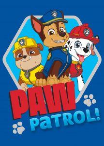 Tapis Paw Patrol Ready