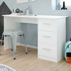 Bureau Ingrid 121cm - blanc