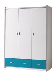 Armoire Bonny 3 portes - turquoise