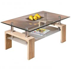 Table basse Alana - sonoma clair