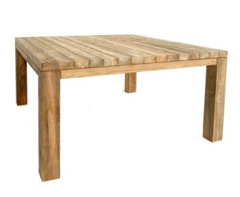 Table de jardin Darwin carrée