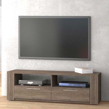 Meuble tv Iris 155cm - brun