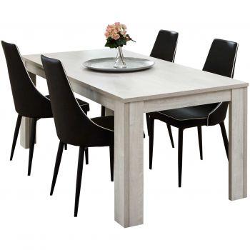 Table à manger extensible Lesley - 185>225>265cm