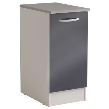 Meuble bas Spott 40x60 cm avec porte - glossy grey