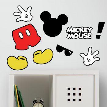 Stickers muraux Mickey Mouse Icons