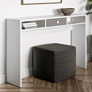 Console Pure - blanc/taupe