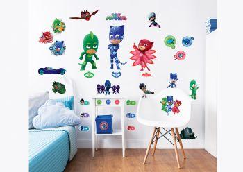 Stickers muraux Pyjamasques