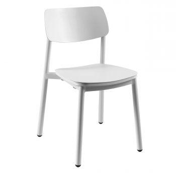 Chaise de jardin Minos - blanc