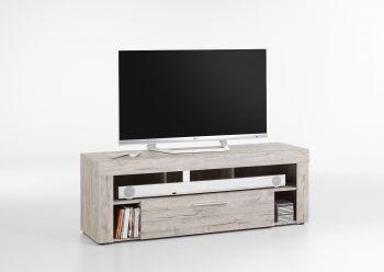 Meuble TV Vidi 150 cm - chêne gris