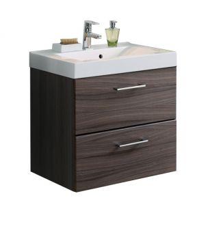 Meuble lavabo Marinello 70cm - brun