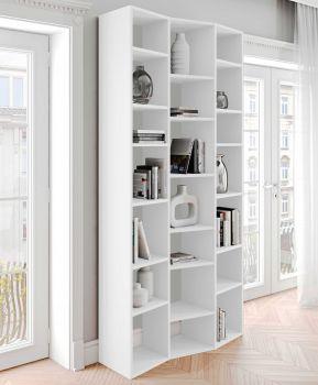 Bibliothèque Varna modèle 7 - blanc