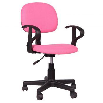 Chaise de bureau Oswald - rose