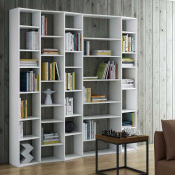 Bibliothèque Varna modèle 5 - blanc
