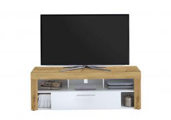Meuble TV Vidi 150 cm - chêne vieilli