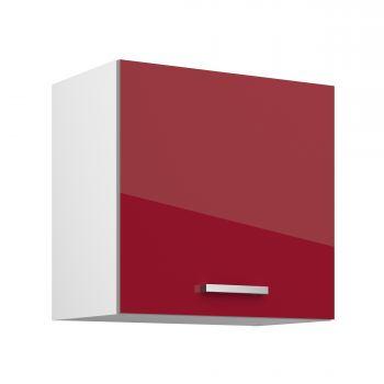 Meuble haut Eli 60x58 - rouge