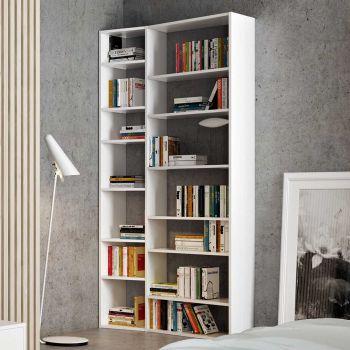 Bibliothèque Varna modèle 1 - blanc