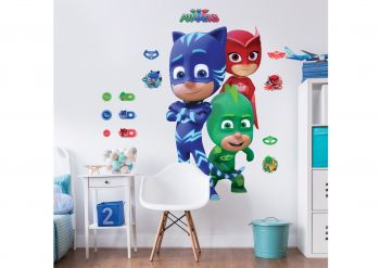 Sticker mural XL Pyjamasques
