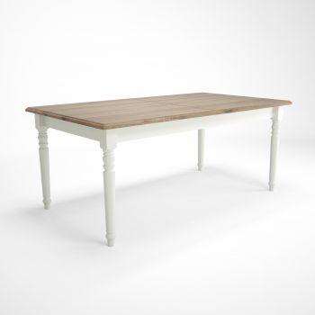 Table à manger extensible Cottage 180/260