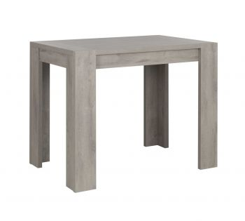 Table de bar Bosy 120x80 - chêne gris clair