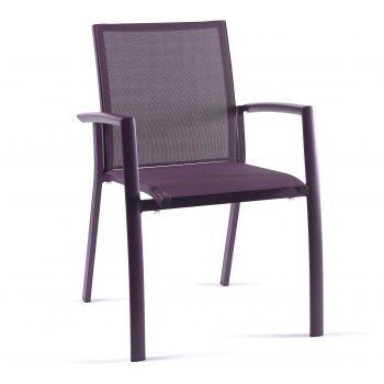 Chaise de jardin Do Re Mi - violet