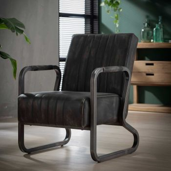 Fauteuil Brianna - anthracite