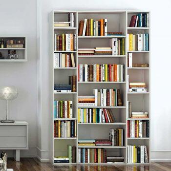 Bibliothèque Varna modèle 2 - blanc